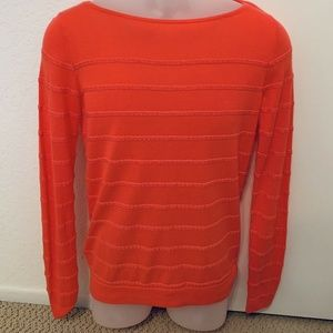 NWT - LOFT by Ann Taylor Coral Light Sweater Small